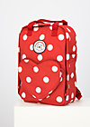 wild weather lovepack, darling dot, Accessoires, Red