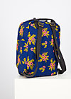 Backpack wild weather, floral stellar, Accessoires, Blue