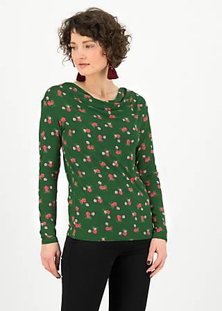 Longsleeve cascadella, forbidden flowers, Shirts, Green