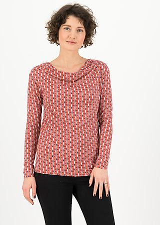 Longsleeve cascadella, bling bling swing, Shirts, Red