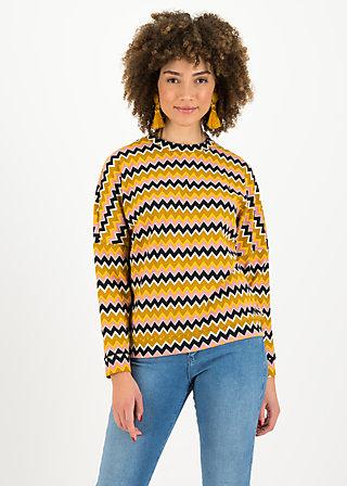 Jumper gar so nett, stripe my soul, Jumpers & Sweaters, Brown