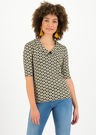 Shirt garconette, banana palm, Shirts, Schwarz