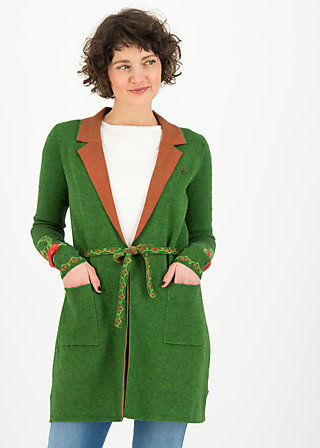 Cardigan gone with the mind, tempting roses, Cardigans & lightweight Jackets, Green