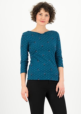 Shirt gracious twist, gentle lady, Shirts, Blau