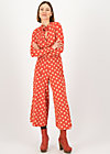 Jumpsuit holy glamour, mister mush, Rot