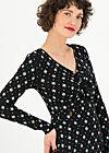 Autumn Dress hot knot, big black band, Dresses, Black