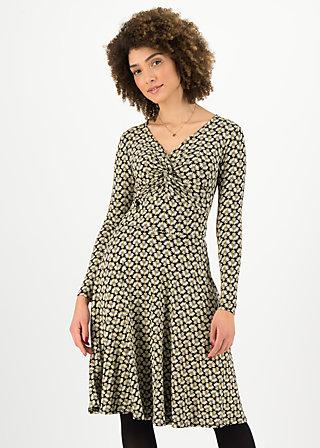 Autumn Dress hot knot, banana palm, Dresses, Black