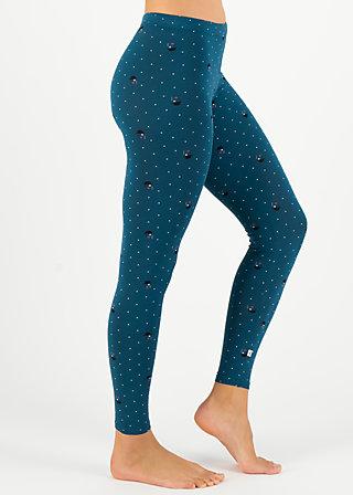 Baumwollleggings leichte laune, gentle lady, Leggings, Blau