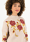 Knitted Jumper rosewood tales, reveal roses, Jumpers & Sweaters, White