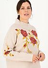 Strickpullover rosewood tales, reveal roses, Pullover & Sweatshirts, Weiß