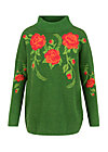 Strickpullover rosewood tales, tempting roses, Pullover & Sweatshirts, Grün