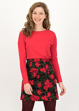 Short Skirt velvet eyes, ornate roses, Skirts, Black