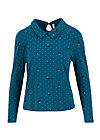 Longsleeve working girl, gentle lady, Shirts, Blau