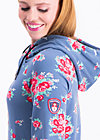 babuschka sweat, flower for circus, Jumpers & lightweight Jackets, Blue