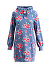 babuschka sweat, flower for circus, Pullover & leichte Jacken, Blau
