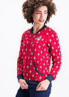 babuscka basejacket, dancing matroschka, Jumpers & lightweight Jackets, Red