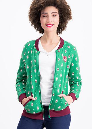 babuscka basejacket, mama matroschka, Zip jackets, Grün