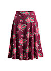 die hosen an glocke, flower for babushka, Skirts, Red