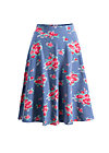 die hosen an glocke, flower for circus, Skirts, Blue