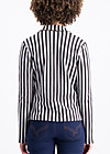 directrice de cirque vest, stripes of harmony, Blazer, Schwarz
