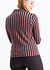 directrice de cirque vest, stripes of revolution, Jumpers & lightweight Jackets, Brown