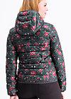 luft und liebe jacket, female folkcraft, Leichtdaune, Schwarz