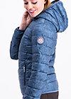 luft und liebe jacket, super me, Leichtdaune, Blau