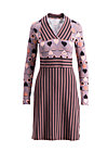 matrioschdirndl dress, stripes of revolution, Jerseykleider, Braun
