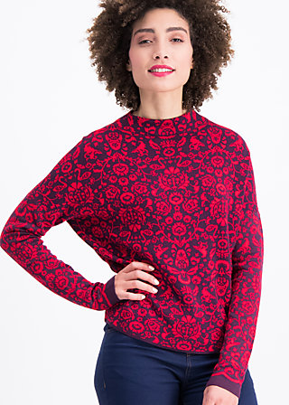 matrioschwan pully, folk craft, Jumpers & lightweight Jackets, Red