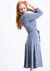 ode to odette dress, vintage circus, Jerseykleider, Blau