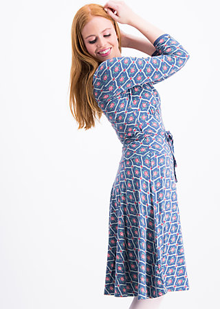 ode to odette dress, vintage circus, Jersey Dresses, Blau