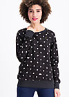 oh l'amour sweat, swimming swans, Jumpers & lightweight Jackets, Black