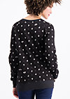oh l'amour sweat, swimming swans, Jumpers & lightweight Jackets, Schwarz