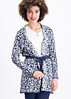 on the road coat, folk tale, Pullover & leichte Jacken, Blau