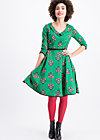 so long lonelyness dress, fancy folk flower, Kleider, Grün