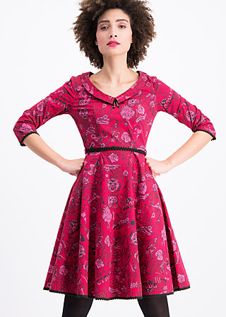 so long lonelyness dress, pretty in ink, Webkleider, Rot