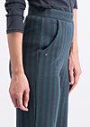 streifenprüfung pantalons, stripes of rights, Hosen, Schwarz