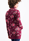 strong girl next door longzip, flower for babushka, Zip jackets, Rot