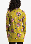strong girl next door longzip, flower for women, Jumpers & lightweight Jackets, Yellow