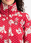 strong girl next door longzip, funny fair, Jumpers & lightweight Jackets, Red