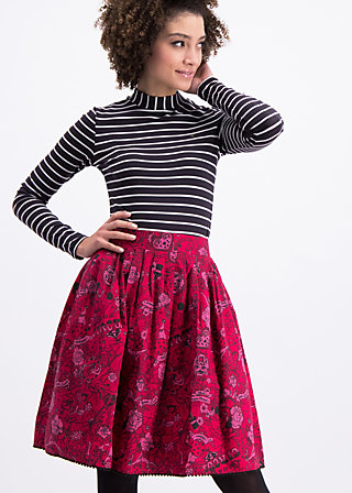 tanz dich frei glocke , pretty in ink, Woven Skirts, Rot