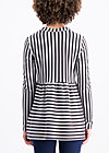 très coquette sweat, stripes of harmony, Shirts, Black