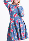 true romance robe , flower for circus, Kleider, Blau