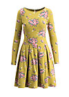 true romance robe , flower for women, Jerseykleider, Gelb