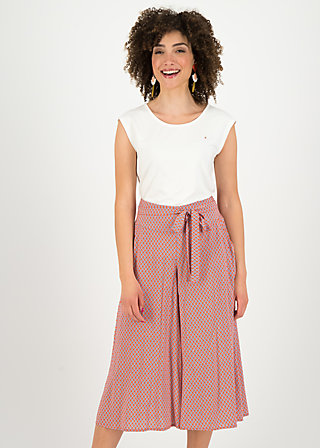 key west culotte, sailor girl, Trousers, Red