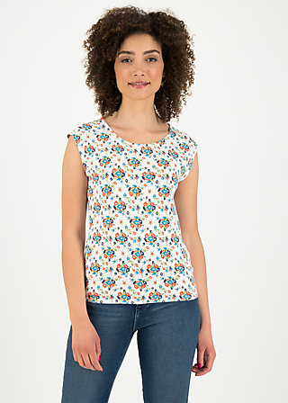 sailorlove top, flower power, Shirts, Weiß