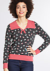 adorable sailorette sweat, birds of berlin, Pullover & Hoodies, Schwarz