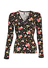 baby be mine shirt, french fleur, Langarm, Schwarz