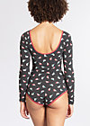 beauty of the day suit, birds of berlin, Bodysuits, Schwarz