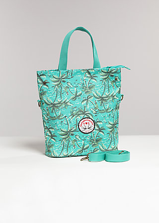 big beauties shopper, makei hawaii, Shopper Bags & Backpacks, Grün
